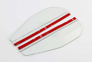 Cubiertas cubierta del espejo de visión trasera universal de calidad del espejo de coche de tapajuntas laterales del coche a prueba de lluvia Hoja de bricolaje Auto Parts Espejo