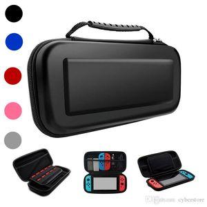 휴대용 운반 보호 여행 하드 EVA 가방 콘솔 게임 파우치 보호 휴대용 케이스 닌텐도 스위치 쉘 상자 스위치 고품질 새로운