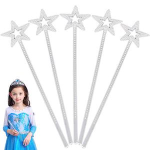 1pc Fada Star Princess Wands Formato de Estrela Wands para crianças Decoração Partido Cosplay aniversário