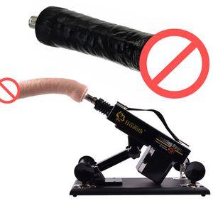 Секс пулемет секс мебель толкая массажер моделирование черный или плоть фаллоимитатор мастурбация Игрушки Товары для взрослых E5-1-71