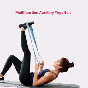 اليوغا المقاومة الجديدة السيدات حزام مطاطا حزام الخصر حزام اللياقة البدنية اللياقة البدنية حبل الشكل الخصر الساق المقاومة