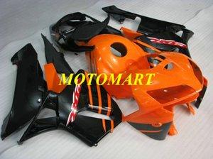Обтекатель мотоцикла для HONDA CBR600RR F5 05 06 CBR600 RR CBR 600RR 2005 2006 ABS Оранжевый черный обтекатель + подарки HB27