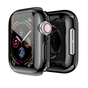38mm 42mm 40mm 44mm Case For Apple Watch Series 1 2 34 All Around Protective Case High Definition Clear Ultra-Thin Apple Iwatch Cover