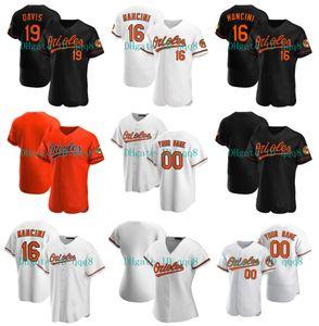 Orioles Jersey 19 Chris Davis 16 Trey Mancini 8 Cal Ripken Jr ROBINSON 15 Şans Sisco 17 Alex Cobb 1 Richie Martin 37 Dylan Bundy Beyzbol