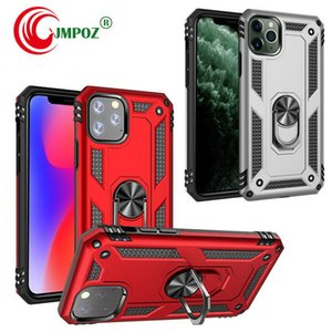 Hybrid Shockproof armor automobile air outlet bracket Phone Case For iPhone 11 pro max 7 8 plus X XS For Samsung NOTE 10 S10 Plus