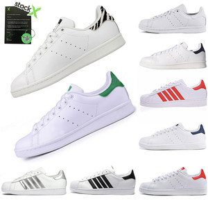 2019 adidas stan smith Gucci Mode Mens Casual Schuhe Superstar Smith Stan weibliche flache Schuhe Frauen Zapatillas Deportivas Mujer Liebhaber Sapatos Femininos für Männer