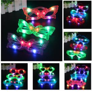 Nouvelle LED Décor de verre en plastique Glow Light Up Jouet en verre pour Kids Party Celebration Neon SHow Noël Nouvel An Décorations HH9-2611