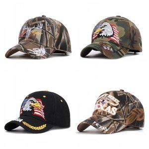 Национальный Флаг США Бейсболка Eagle Pattern Утка Язык Шляпа Женщины Мужчины Camo Snapback Солнцезащитное Доказательство Зеленый Черный 9 5bd C1