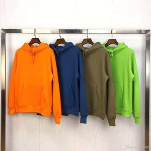 Mens fashion hoodies compass badge hot high quality street fashion couple autumn and winter thick hooded sweater