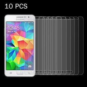 10 PCS para Galaxy Gran Primer / G530 0.26mm 9H Dureza superficial 2.5D a prueba de explosiones de la pantalla de cristal templado de Cine