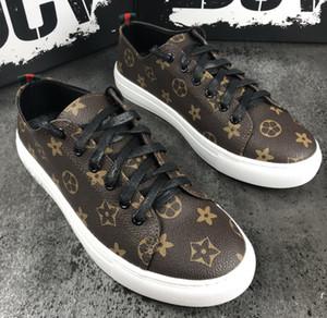 Designer Luxus-Plattform Klassische Freizeitschuhe der Frauen der Männer Skateboard Schuhe frontrow Sneaker Pumps Tennis Chaussures
