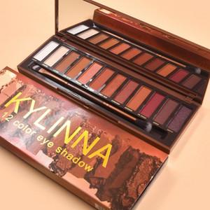 KYLNNA 12 color eye shadow 12 colors latest makeup Shadow Palette 12 color eye shadow palette DHL free shipping