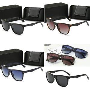 Police 88102 또는 검은 색 가죽 케이스, 천, 모든 액세서리 남성 여성 라운드 금속 모델 최고 품질 UV400 태양 유리 렌즈 선글라스!