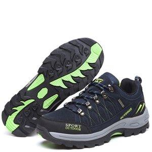 Мужчины Походных ботинок женщины Горный треккинг Спорт против скольжения дышащего кроссовок Мягких Походной обувь Мужчина мода кроссовки 4,7