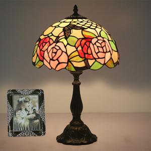 크리 에이 티브 럭셔리 나비 꽃 디자인 테이블 램프 거실 침실 램프 연구 레스토랑 바 카페 유럽의 책상 램프