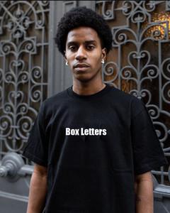 19FW Nueva camiseta para hombre del diseñador de camisetas de moda Cartas de impresión de la calle camisetas de manga corta de lujo de estilo 2020 ropa de verano caliente