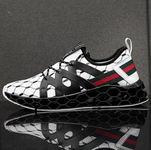 2019 Son Çıkan Yeni Blade erkek Tasarımcı Sneakers Avrupa ve Amerika Eğilim Rahat Ayakkabılar Erkekler Sönümleme kaymaz Örgü Nefes Spor Ayakkabı 7-13