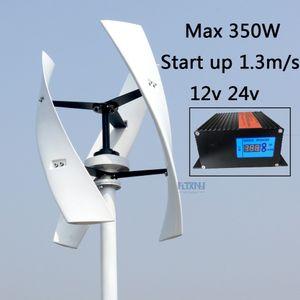 Nuovo arrivo 300W turbina eolica verticale levitazione magnetica 12 v 24 v 250 rpm nessun rumore con alta efficienza per uso domestico