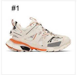 Designer di lusso Sneaker da corsa per uomo donna triplo nero bianco grigio casual scarpe casual altezza altezza crescente jogging walking