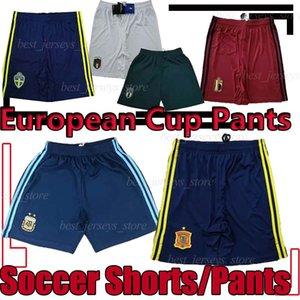 Argentina Fútbol Pantalones cortos Pantalones cortos Italia España de Fútbol español Bélgica pantalones de fútbol Portugal 19 20 Copa de Europa a corto Suecia hombres
