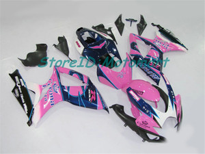 ABS Fairing set for SUZUKI GSXR600 750 2006 2007 GSXR 600 GSXR 750 K6 06 07 gloss black Fairings kit gifts Sp12