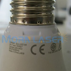 Lamp marking and engraving machine laser labeling lamp, 110*110mm 20 W, chinese machine good quality