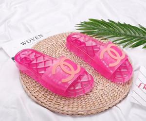 Preço de Venda Nova Low 2020 Sandálias Sapatos Deslize Summer Fashion Ampla Plano Slippery Sandals Chinelo flip mulas com Box 35-45 1007