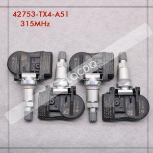 타이어 RPESSURE SENSOR 2012 2013 2014 RDX는 315MHz 42753-TX4-A51 TPMS 센서 타이어 압력