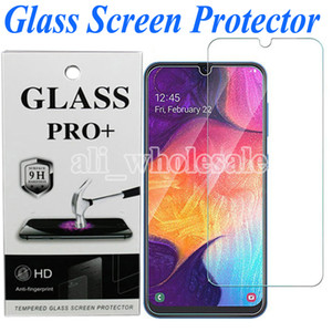 2.5D gehärtetem Glas-Schirm-Schutz für Samsung Galaxy A50 A10 A20 A40 A30 A10e A70 A80 A90 M30 M50 A6, Blase Free Anti Scratch