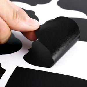 15 30PCS Blackboard Label Sticker Self-adhesive Chalkboard Decal Spice Jar Tag DIY Erasable Home Supplies