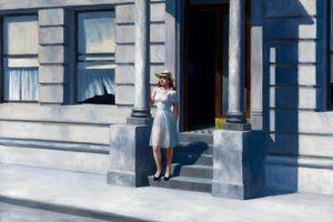 Edward Hopper Sommer Home Decor Handbemalte HD-Druck Ölgemälde auf Leinwand-Wand-Kunst Bilder 200208