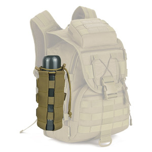 Hbp tactique molle bouteille bouteille bouteille porte-bouteille molle molle système kettle sac camping randonnée voyage de survie
