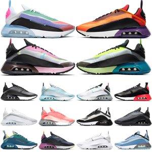 Nike air max 2090 airmax Sapatilhas Amarelas clássicos homens Tênis de Corrida Triplo Preto Vermelho Azul Branco Branco Sports Trainer Mulheres Andando Sapatos de Esportes