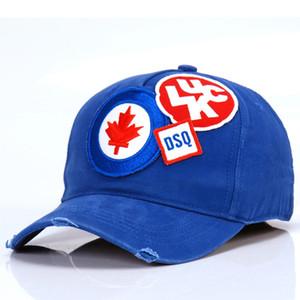 2020 neue Art DSQICOND2 Stickerei Hutkappen Männer Frauen Hysteresen-Kappen für Männer Baseballmütze Golf gorras Knochen casquette d2 Hut D70