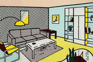 Pintura Roy Lichtenstein óleo sobre tela Pop Art Quarto Modern Wall Art Decor Home pintado à mão HD de impressão 191020