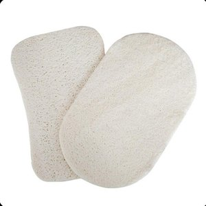 Natural Loofah Dish Brush Pot Loofah Cleaning Cloth Loofah Pad for Kitchen Bathroom Tools Supplies LX2239