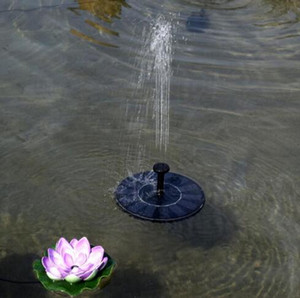 Outdoor Solar Powered Water Fountain Pump Floating Outdoor Bird Bath For Bath Garden Pond Watering Kit