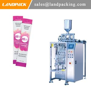 Vitamin Water Multi Lane Stick Packing Machine Vitamin Drink Automatic Vertical Form Fill Seal Machine Practical