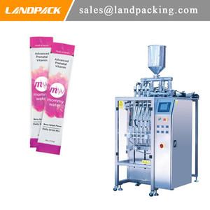 Vitamine bâton eau multi Lane Machine à emballer automatique de vitamine Boisson Tubulaire Vertical Seal machine pratique