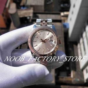 8 Color Luxury BP Factory 126333 41mm 2813 Automatic Movement New V2 Bicolor JUBILEE BRACELET DATEJUST Black Dial Sapphire Glass Mens Watche