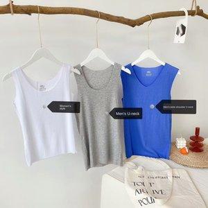 20 soft as modal traceless vest men's and women's pothole sleeveless top thin Top Underwear high elasticity traceless underwear