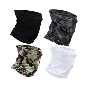 Pesca Scarf Máscara UV bloqueio Bandana Headwear Headband Ciclismo Caminhadas ao ar livre Hijab lenço principal Rosto Escudo Baff Atacado