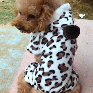 겨울 강아지 두건의 코트 애완 동물 의류 작은 강아지 의류 패션 애완 동물 강아지 따뜻한 산호의 양털 의류 순록 눈송이 자켓 BC BH0984-2