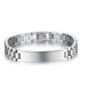 10mm ID Cubain Bracelets Charme En Acier Inoxydable 316L Bracelet Pour Hommes Femmes Hip Hop Bijoux Cadeaux Longueur réglable