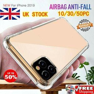 Royaume-Uni Wholesales pour iPhone 11 11 Pro Max ShockProof souple Téléphone Couverture TPU couverture de silicone