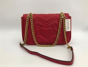 Europeus e americanos Marca Designer Mulher 2020 Nova Moda Messenger Bag Chains ombro bolsa de mulheres rebites transparente Praça PU Handbag 26