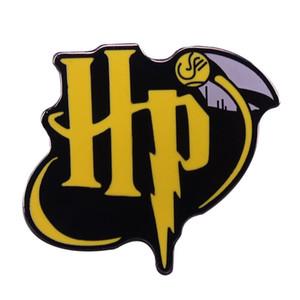 HP Logo-Pin mit einem magischen Geschenk Schnatz bookworm