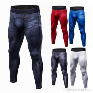 Leggings New Tights Compression Pants Jogger Pantalones Hombre SportTrousers Wicking Sportswear Pants Men Plus Size S-3XL