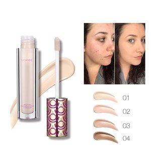 Foundation Concealer foundation primer Liquid concealer 4 colors Mixed color Lasting moisturizer Skin Facial Make up Cosmetic