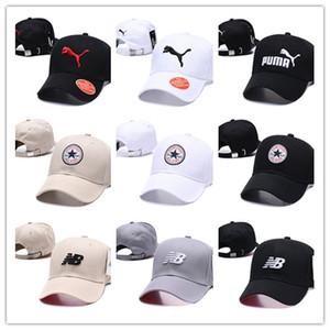 2019 nuovi cappelli della sfera del progettista di modo di stile per il berretto da baseball di Snapback di marca delle donne di modo Sport il cappello del progettista di calcio 13 colori trasporto libero